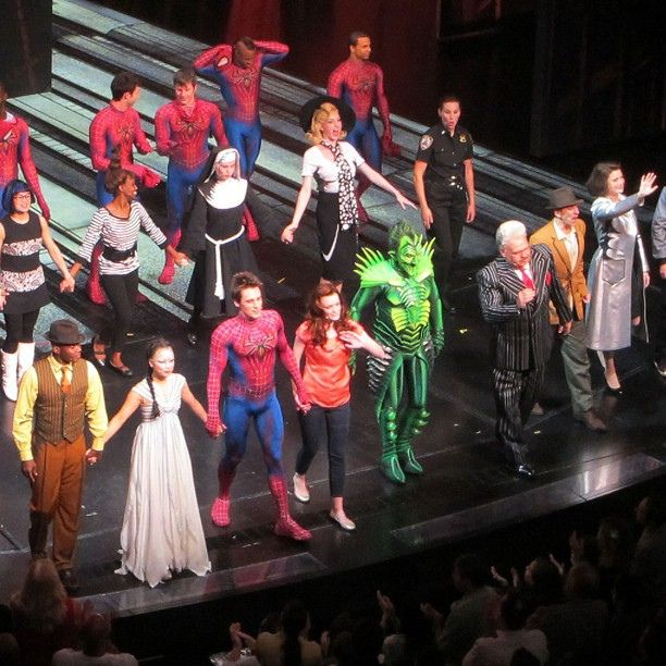 Curtain Call For @SpideyOnBway
