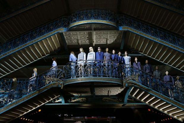 Kenzo collection at Paris Fashion Week