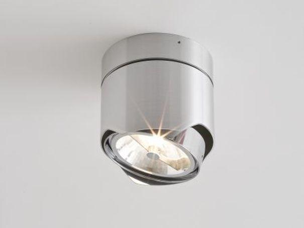lmpara de techo halgena ajustable con luz directa solid coleccin interior lmparas de techo by