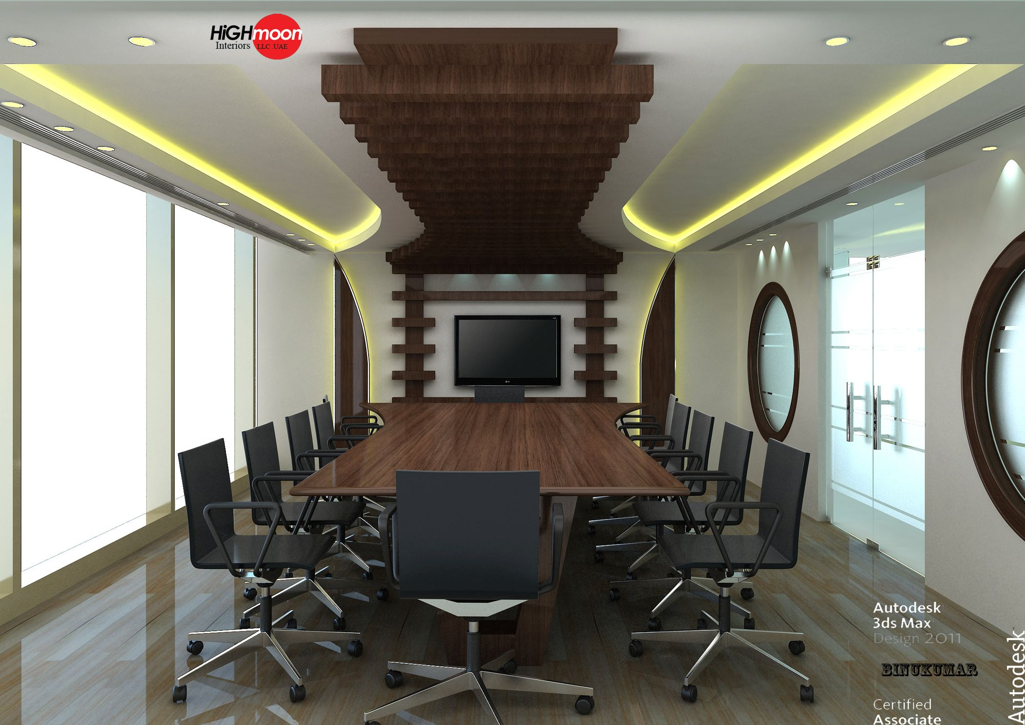False Ceiling Designs For Office Meeting Hall