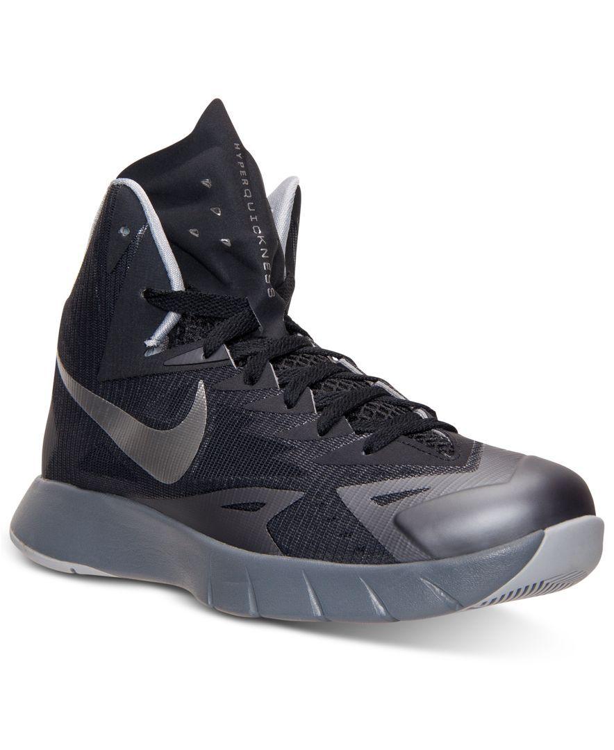 info for da092 0c3ef Nike Men s Lunar Hyperquickness Basketball Sneakers from Finish Line
