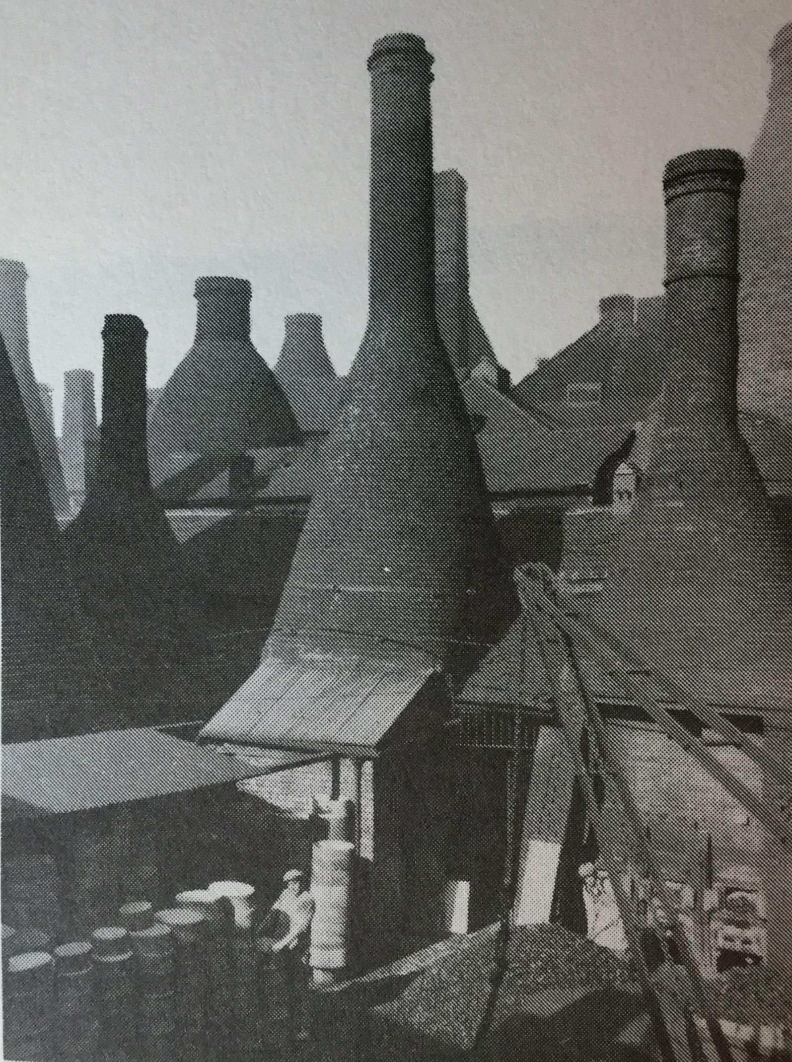 Longton newcastleunderlyme stoke on trent old pottery