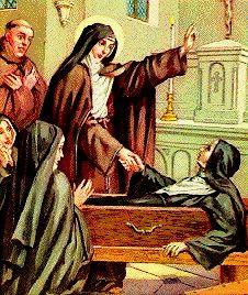 St Colette de Corbie, Virgin and Miracle Worker