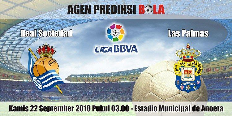 Prediksi Bola Real Sociedad vs Las Palmas 22 September ...
