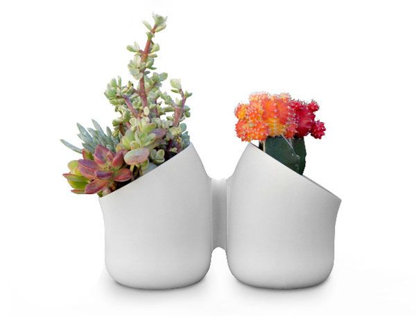 Urbio magnetic containers back-to-back #planter