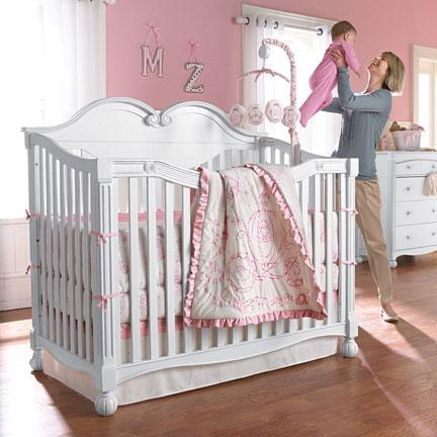 Baby Girl Nursery Themes Princess Crib, Disney Princess Crib Furniture