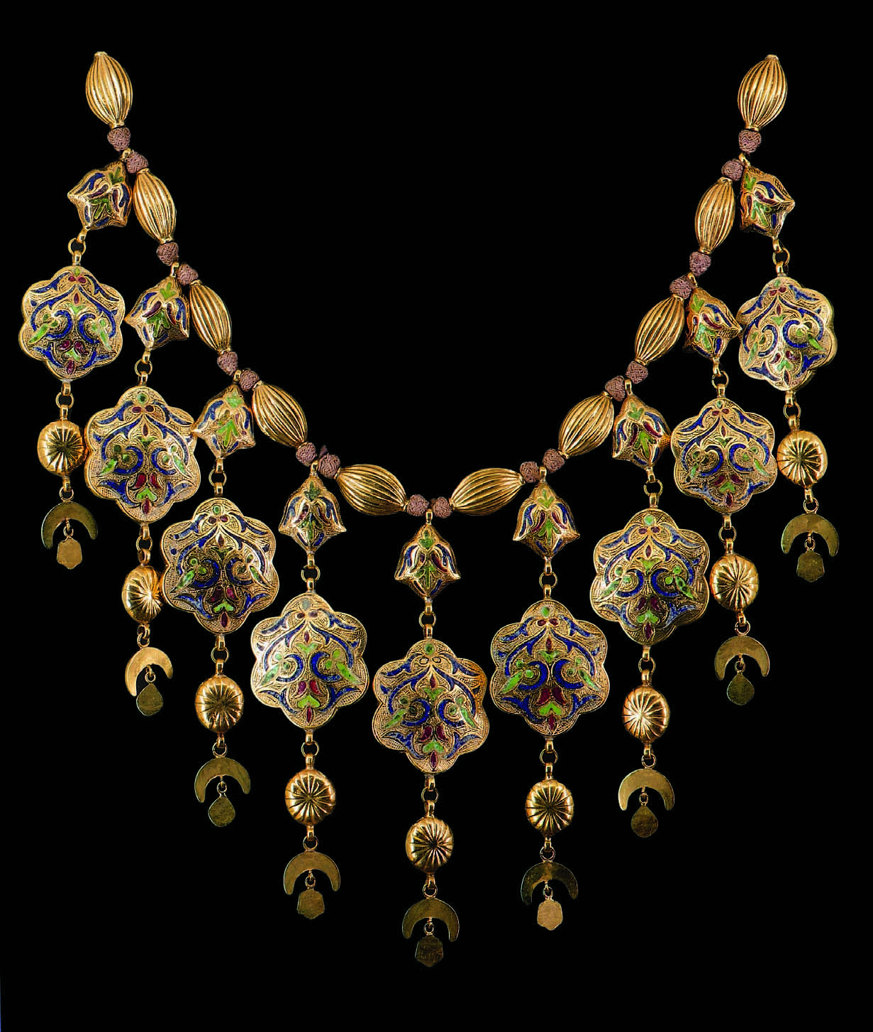 Morocco Wedding Necklace Labbah