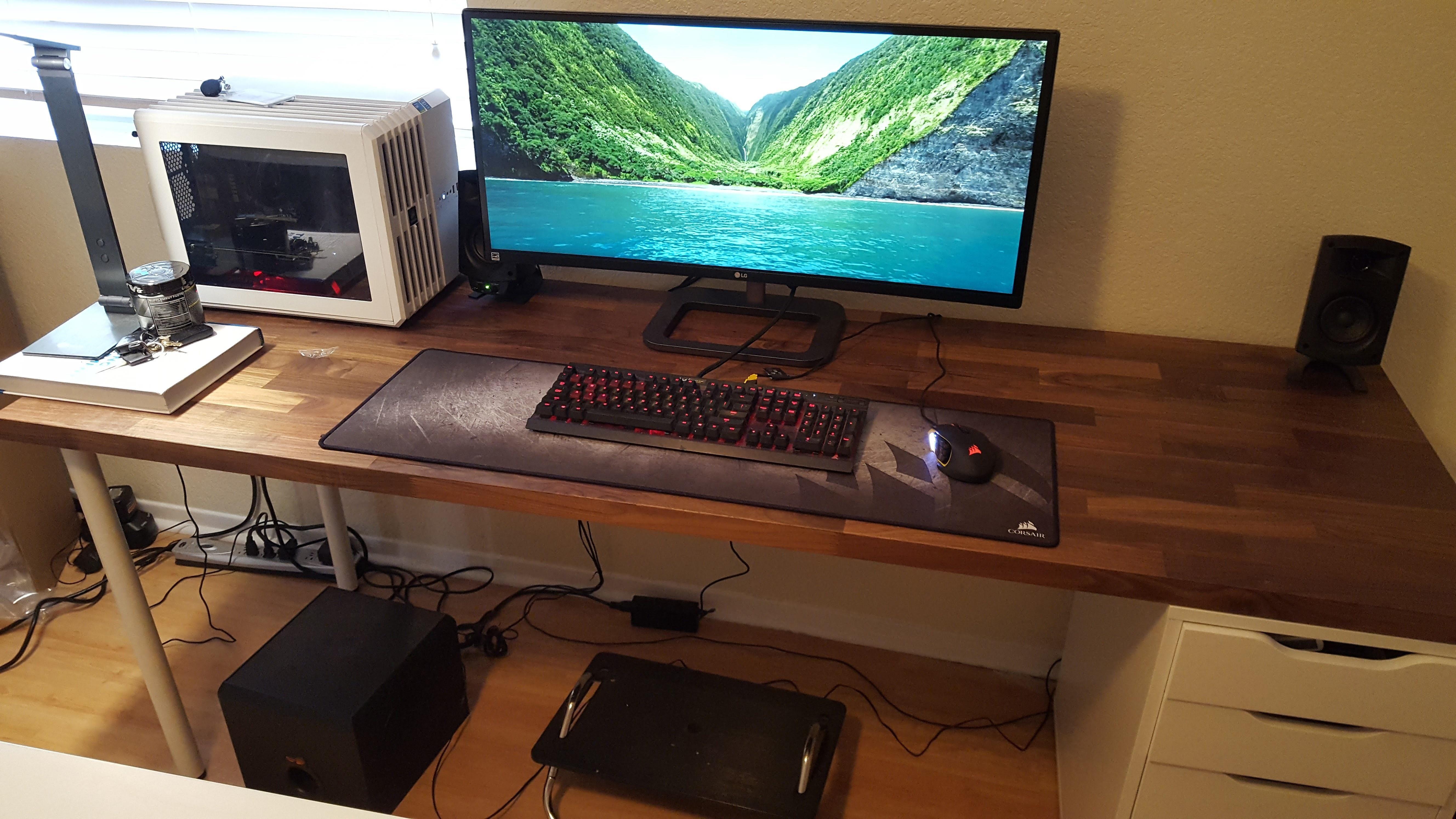 Yet Anotha Karlby Desk Setup Desk Setup Diy Computer Desk Desk