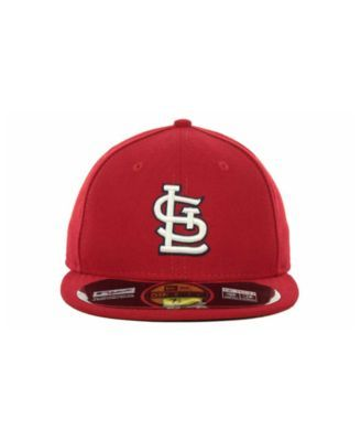 ad78536a46d New Era St. Louis Cardinals Authentic Collection 59FIFTY Hat - Red 6 ...