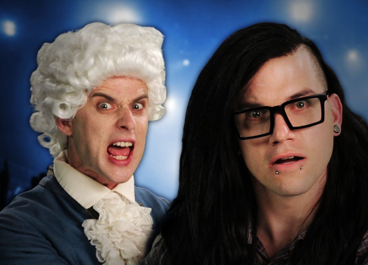 Mozart Vs Skrillex Epic Rap Battles Of History Season 2 Epic