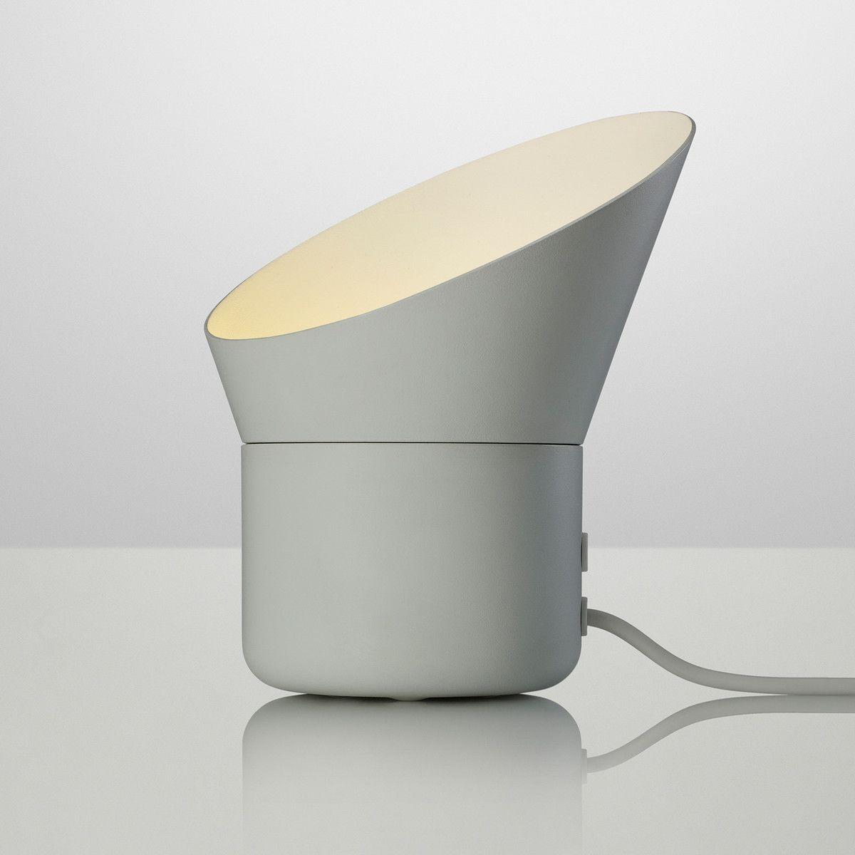 Muuto Up Tischleuchte Grau Tischlampen Lampen
