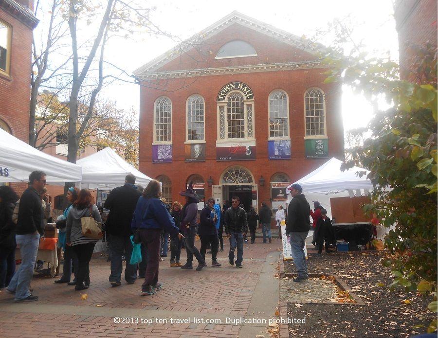 Halloween in Salem Exploring Real Life Hocus Pocus