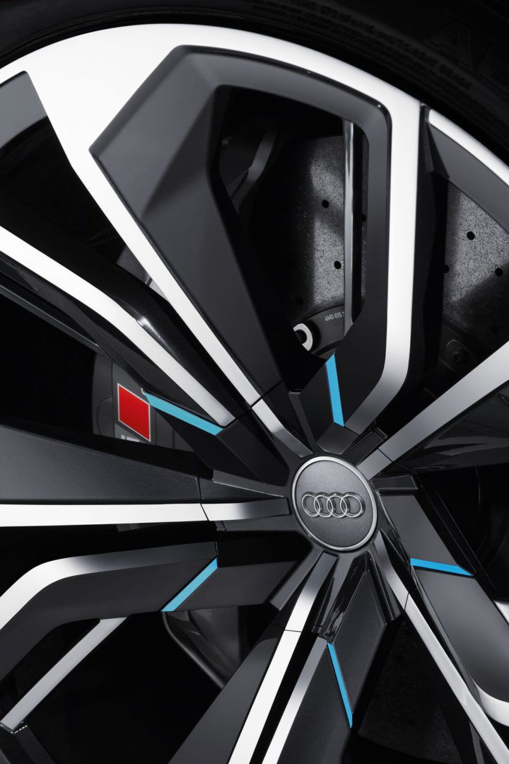 Audi Q8 Concept Wheel Detail From The Gallery