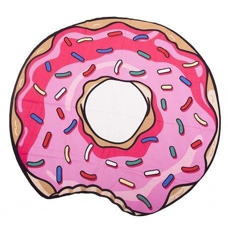 LONA DONUTS TOALLA 1200 Lona playera con forma de donuts en tela de toalla Medidas 150 cm   Nos preparamos para el con todo   Llevamos a domicilio sin cargo