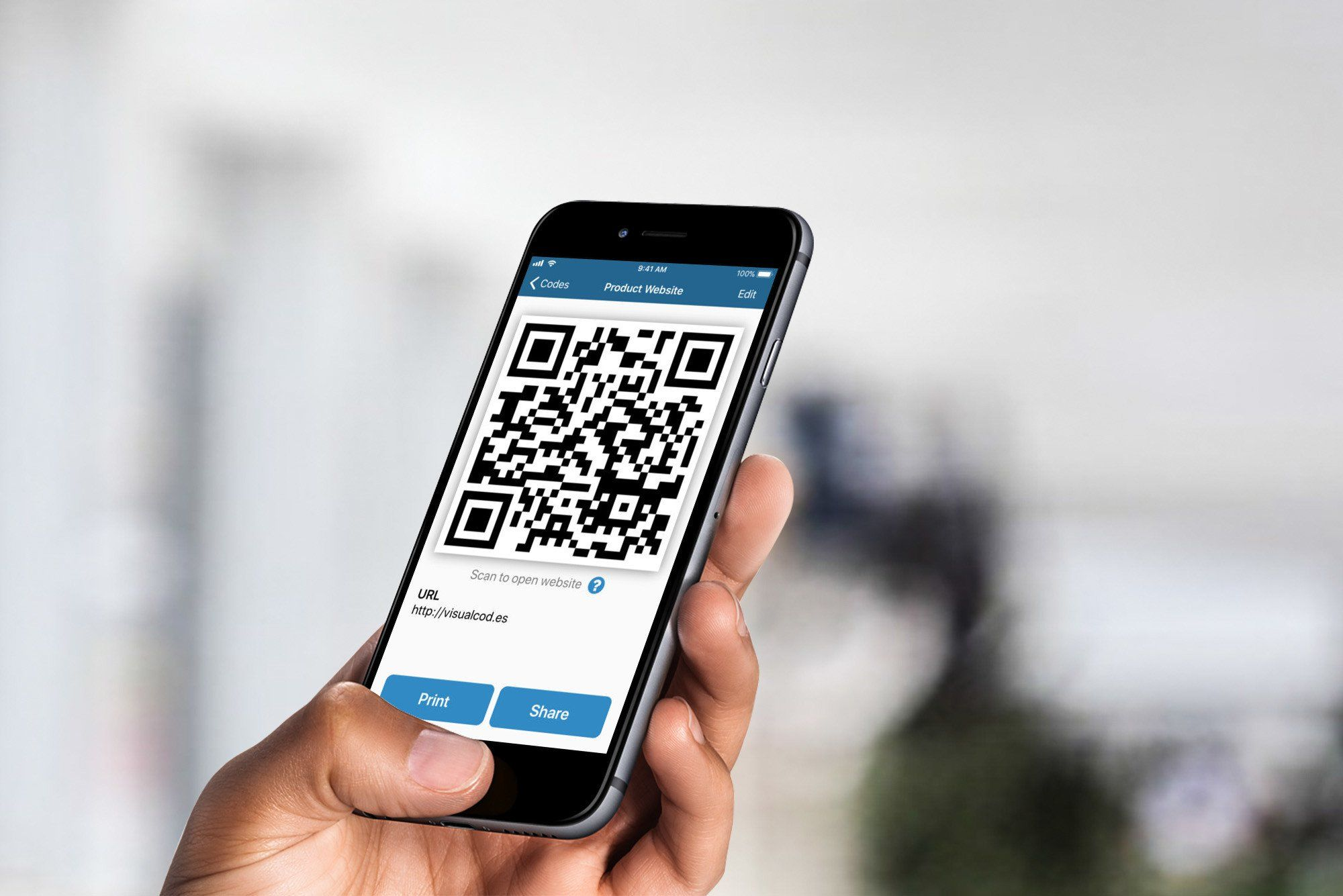 Visual Codes Turns Your iPhone Into a QR Code Generator | AppAdvice