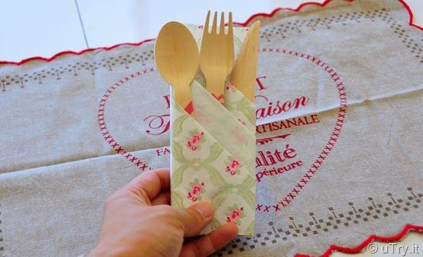 How to Fold Paper Napkins For Parties and Gatherings #papernapkins