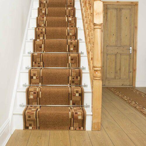 Photo of Rosalind Wheeler indoor / outdoor carpet Alkmaar in brown | Wayfair.de