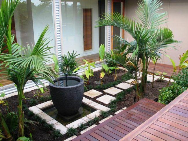 Turbo kleiner-garten-ohne-rasen-pflanzen   Ideen für Gartenteil   Garten UH08