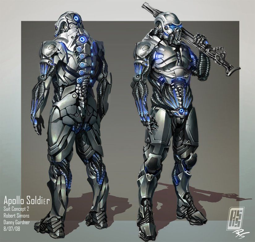 Character Design Workflow : Forerunner armor workflow cont by donvega on deviantart