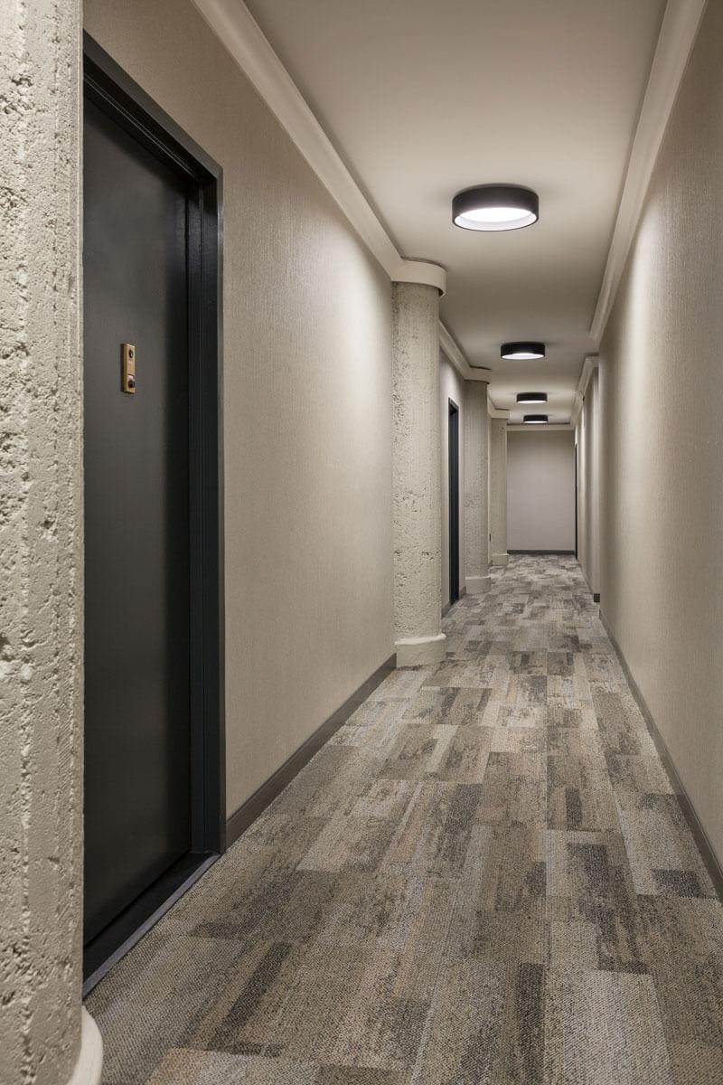 250 Mercer Hallway Renovation Corridor Design Interior Design Hallway Hallway Design