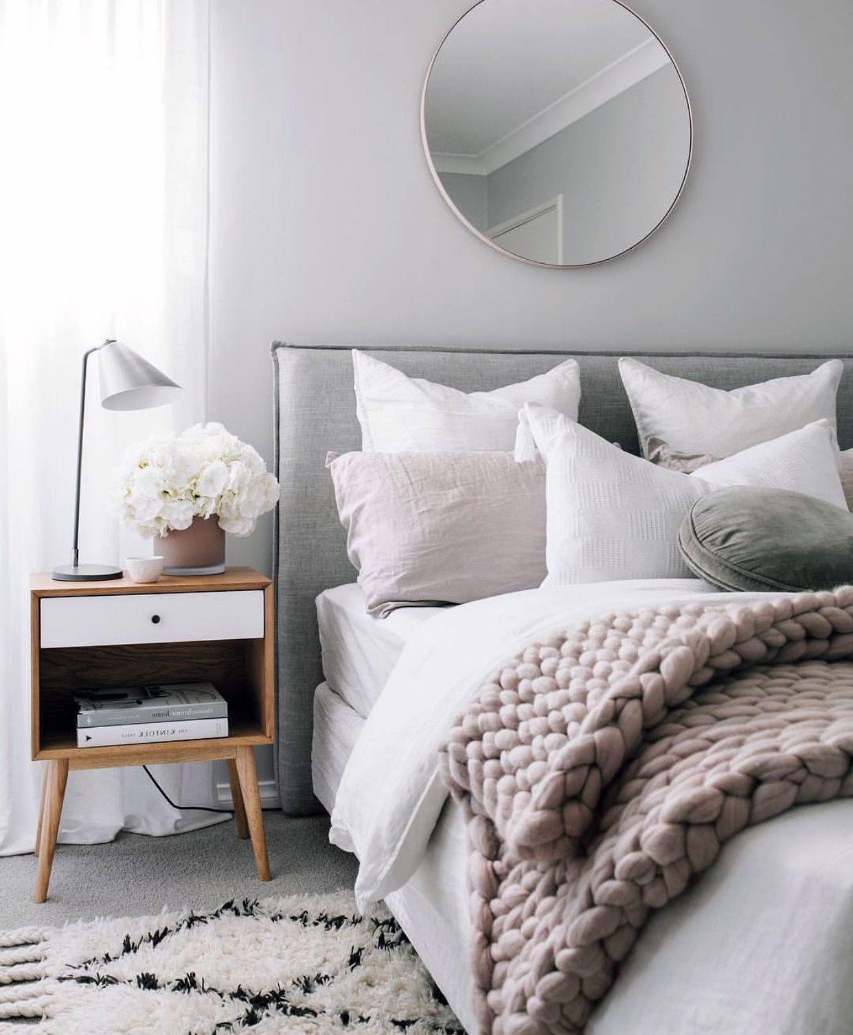 27 Grey Scandinavian Interior Bedroom Ideas You Must Try In 2020 Scandinavian Style Bedroom Apartment Bedroom Design Scandinavian Interior Bedroom