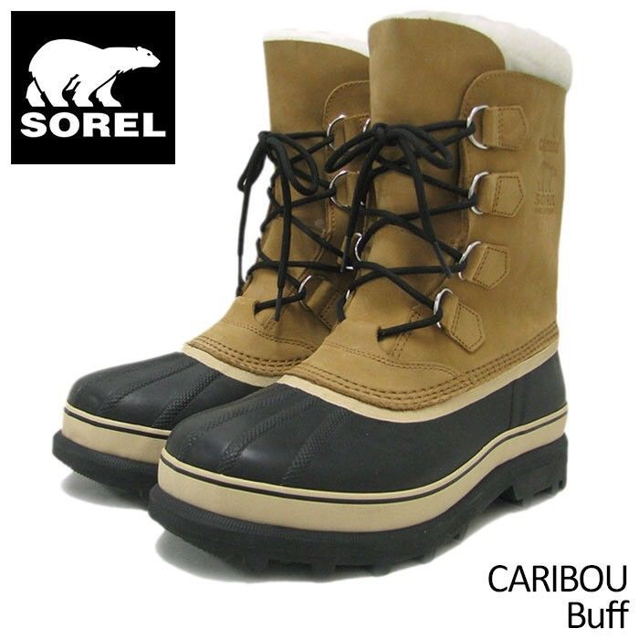 7a81ee07e4d  150 SOREL Men s 9 NM 1000-281 Waterproof CARIBOU Winter Boots - Buff   fashion  clothing  shoes  accessories  mensshoes  boots (ebay link)