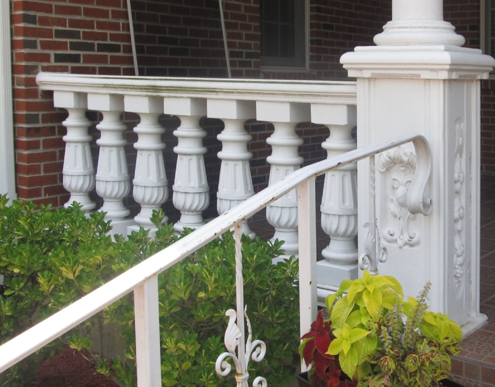 Type 3 balustrade in Yonkers, NY.   Village house design ...