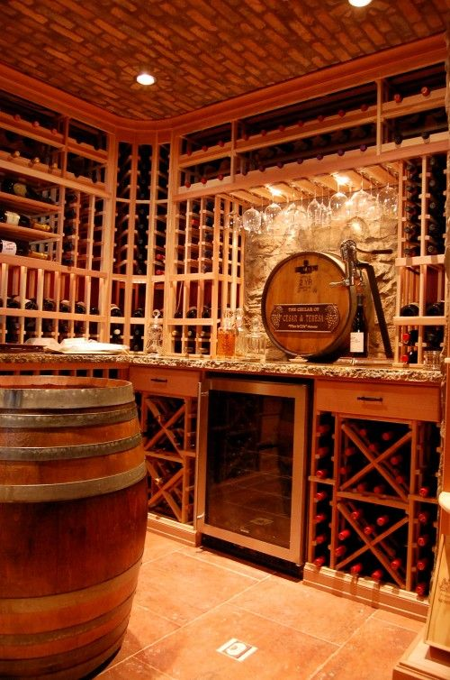 Wine Cellar If Attic Is Small Redecorate It To Look Like A Wine Cellar Home Wine Cellars Wine Cellar Design Cellar Design