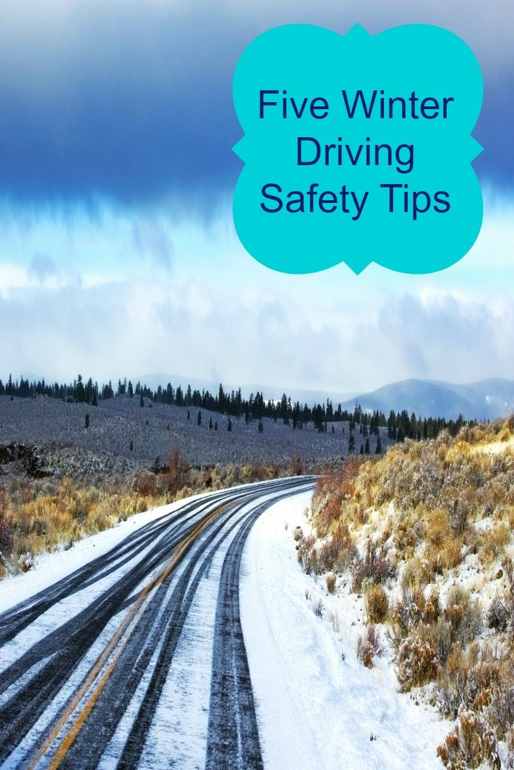 Five Winter Driving Safety Tips  Safe Driving Tips  Safe -1637