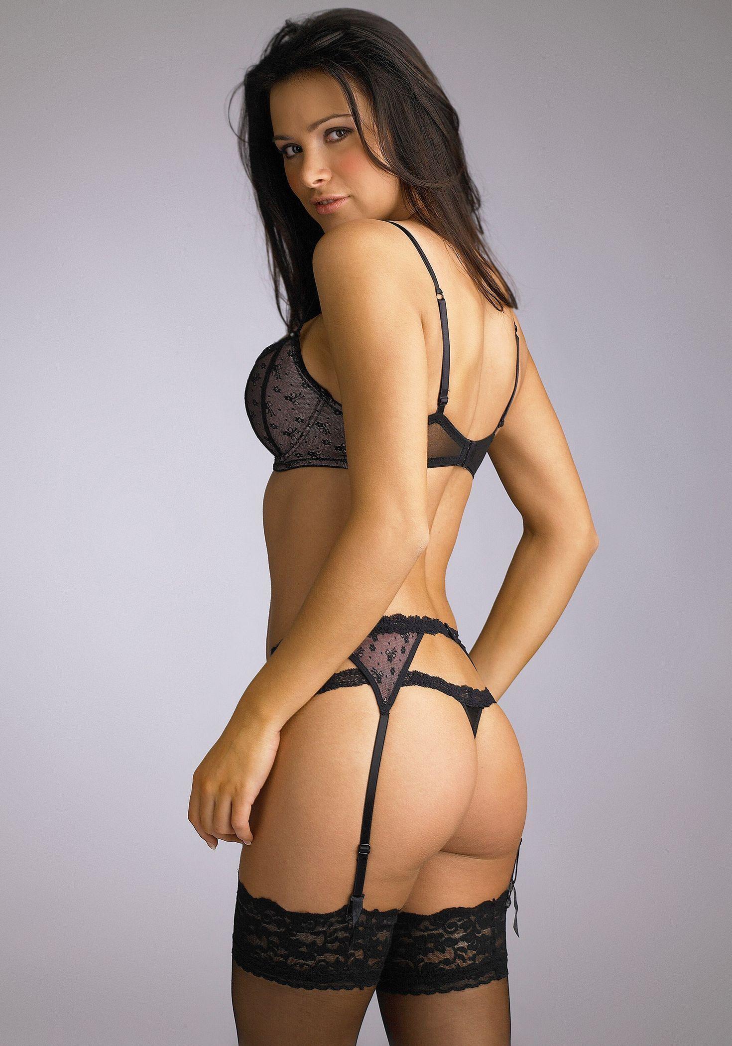 girls_alina_vacariu_black_lingerie | LINGERIE | Pinterest