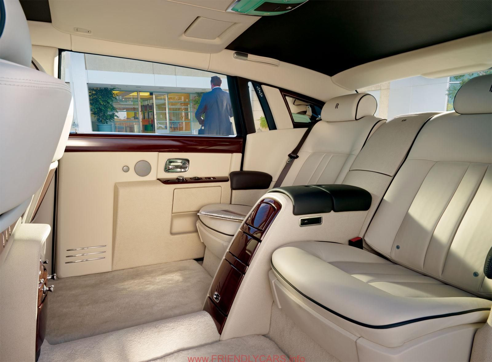 Rolls royce phantom series ll extended wheelbase interior