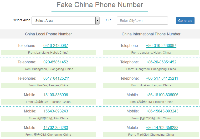 how to get a fake phone number