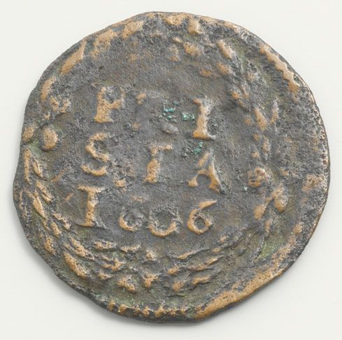Friese duit uit 1606
