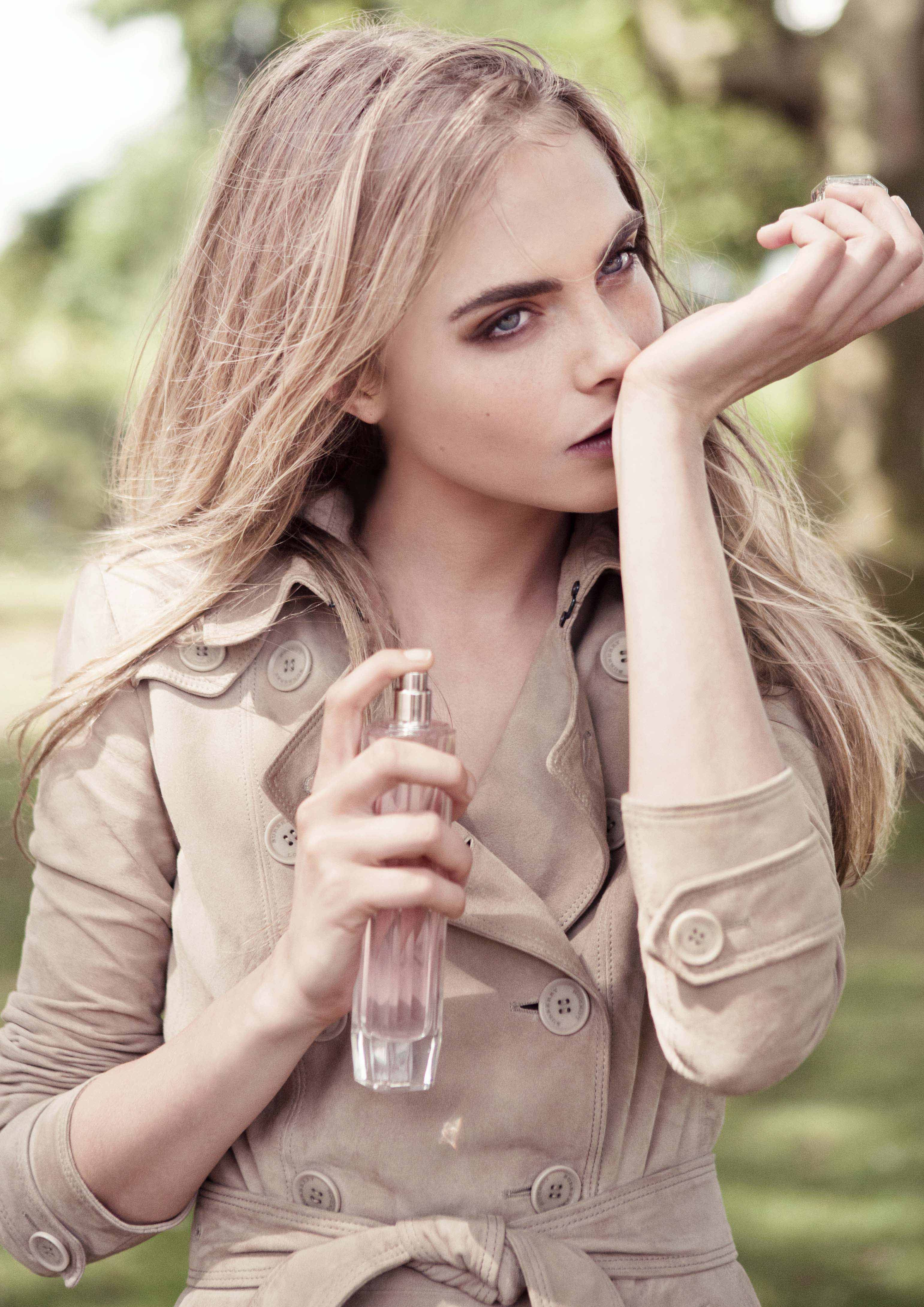 Cara Delevingne Fronts New Burberry Body Tender Campaign recommend