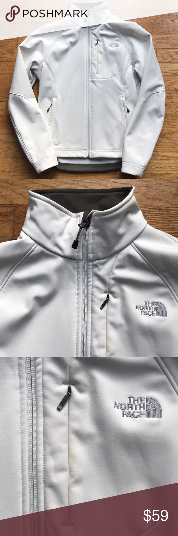 North Face Jacket North Face Jacket Euc Very Slight Discolouration That Will Come Out In The Wash White Cre North Face Jacket Beautiful Coat Fashion [ 1740 x 580 Pixel ]