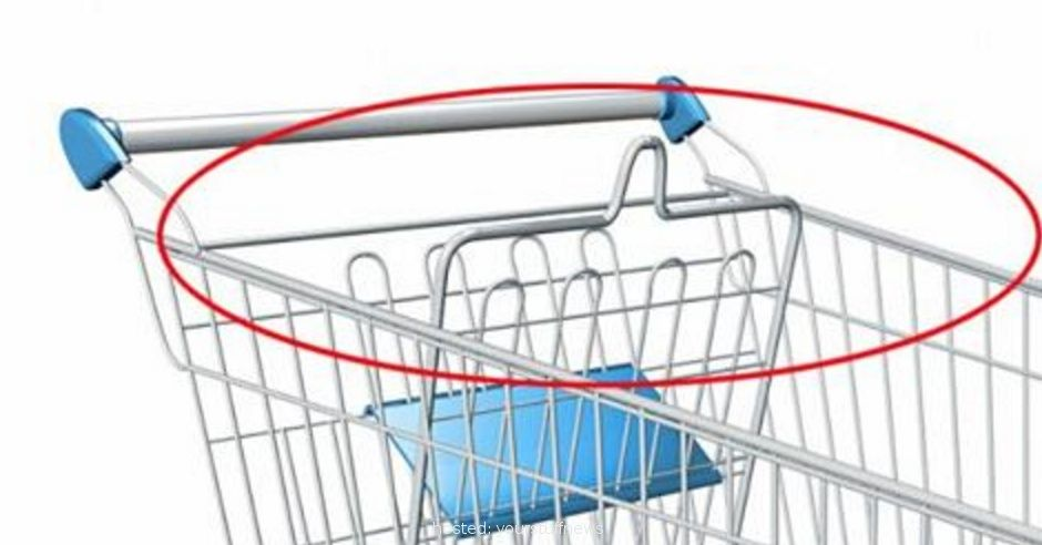 Puzzled About These Two Loops On Shopping Carts? They Actually Have A Really Cool Purpose