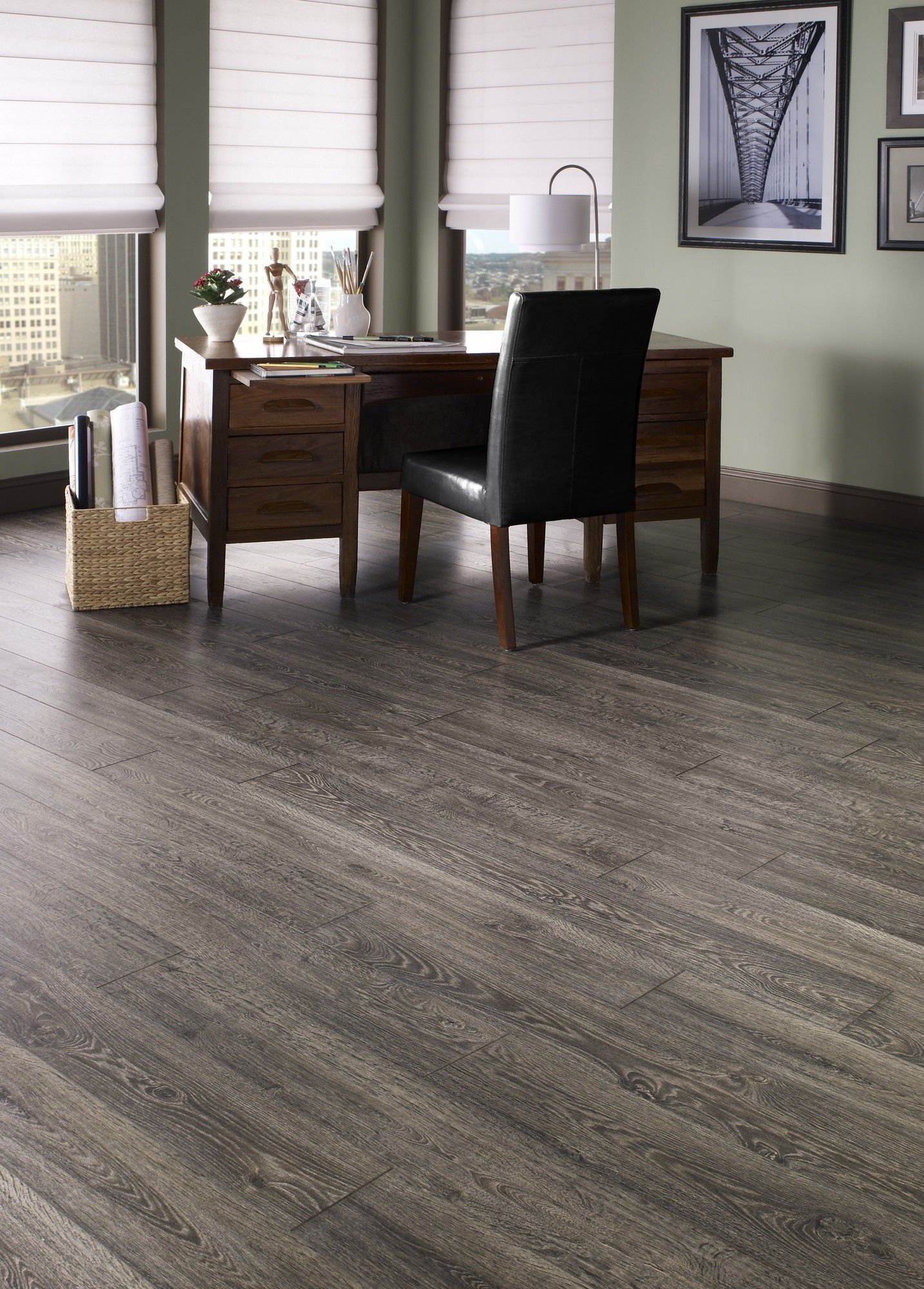 You Ll Love The Restoration 6 X 51 X 12mm Oak Laminate In Fumed At Wayfair Great Deals On Mannington Laminate Flooring Oak Laminate Oak Laminate Flooring