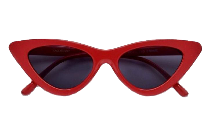 Discover Trending Cute Stickers Red Sunglasses Sunglasses Vintage Fashion Eye Glasses