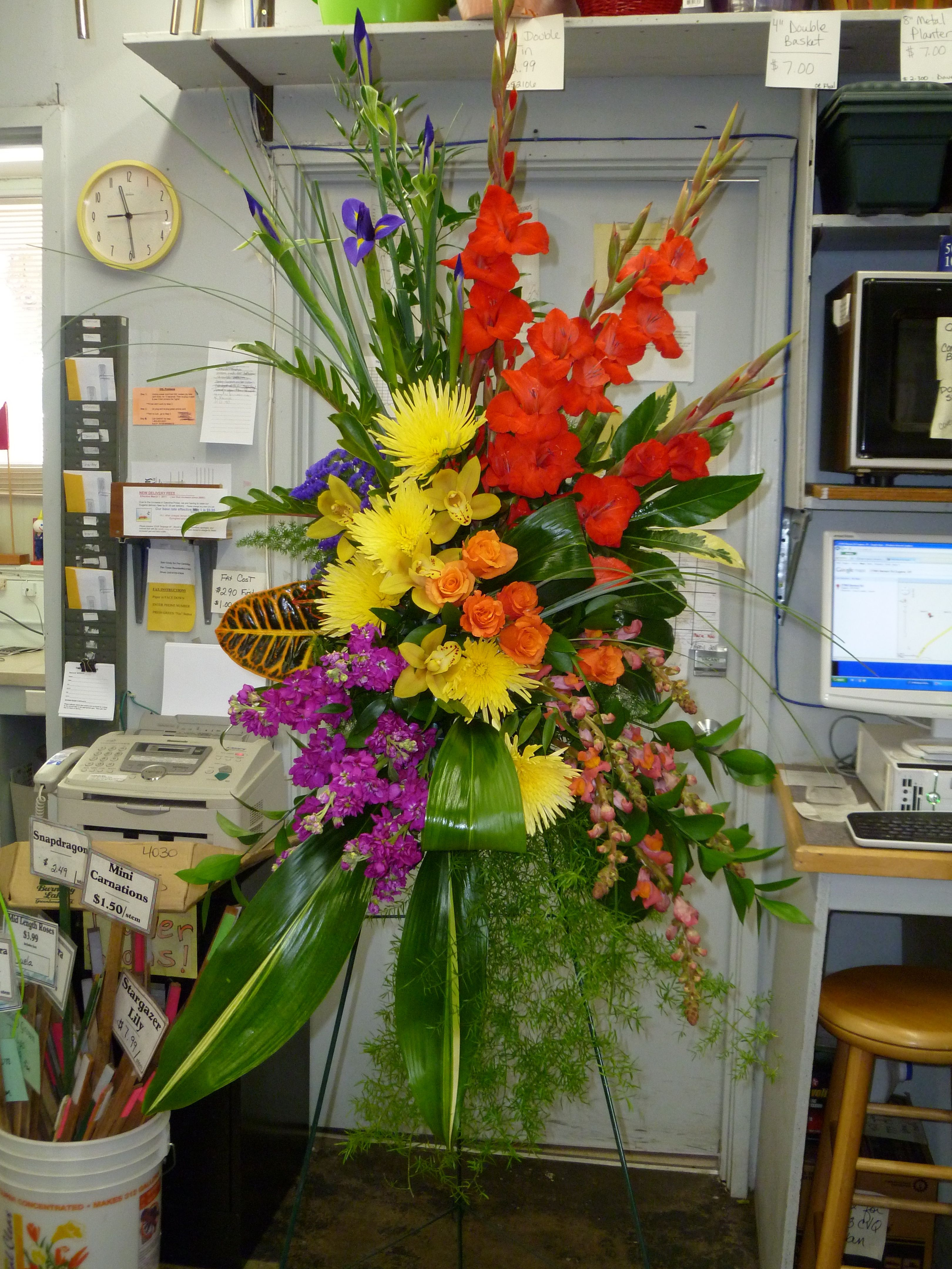 Tropical Floral Designs Google Search Funeral Florals