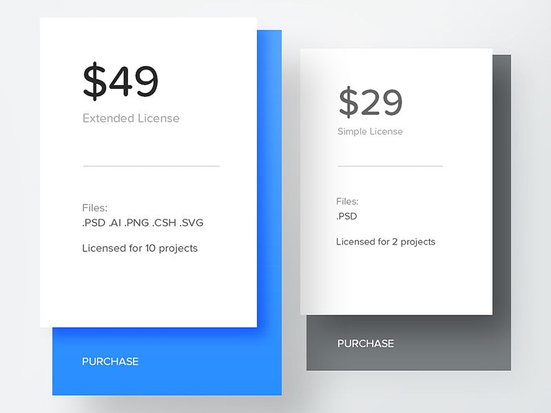 Day 040 - Pricing Table Pricing table, Ui ux and Mobile ui - price chart template