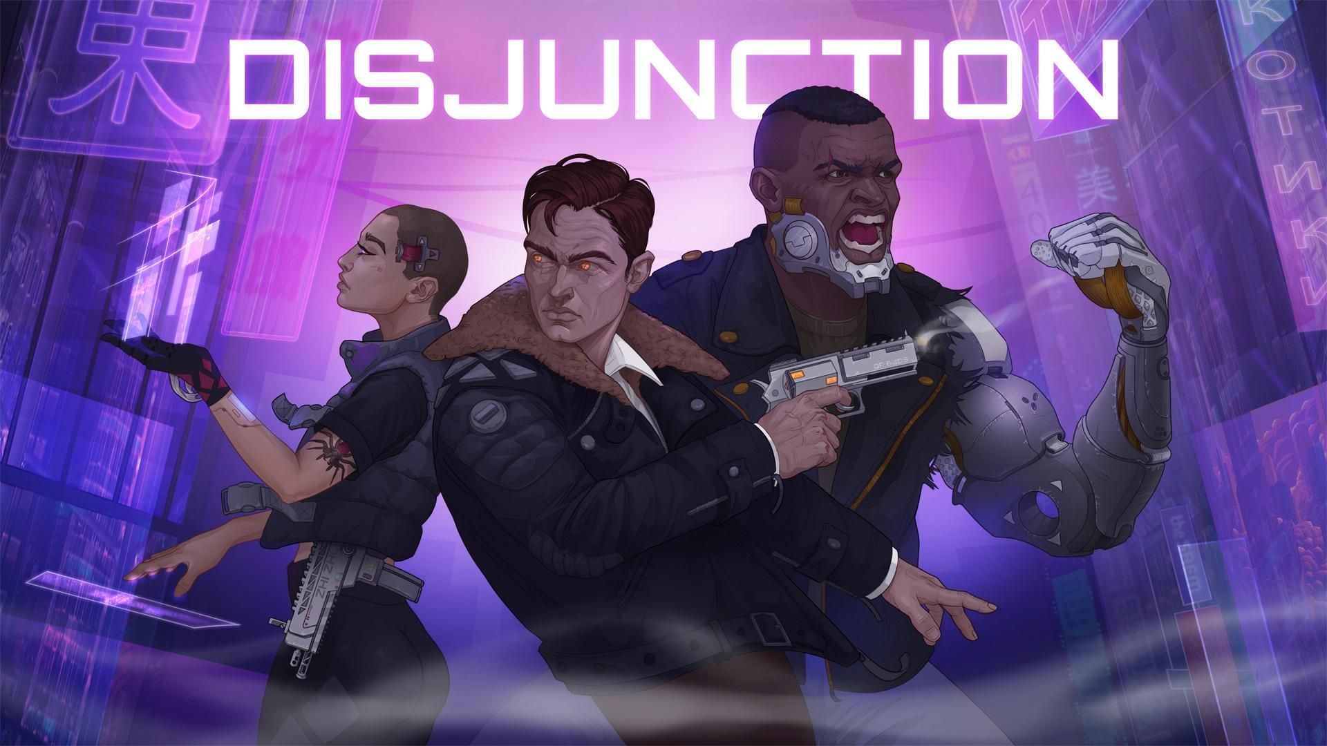 Disjunction Artwork Game Coming to Steam 2019 cyberpunk