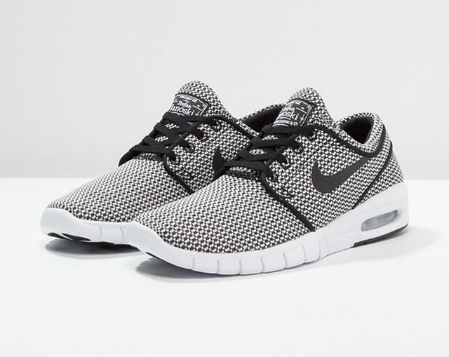 reasonable price where can i buy buy online Nike SB STEFAN JANOSKI MAX Baskets basses black/white ...