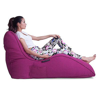 Avatar Lounger Bean Bag Pink interior beanbag for Home Cinema Sofa lounge sofa | eBay