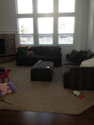 BEFORE:  Reveal: Bright and Modern Family Room