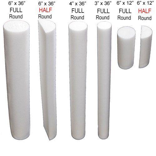 6 x 12 CanDo Plus Foam Roller