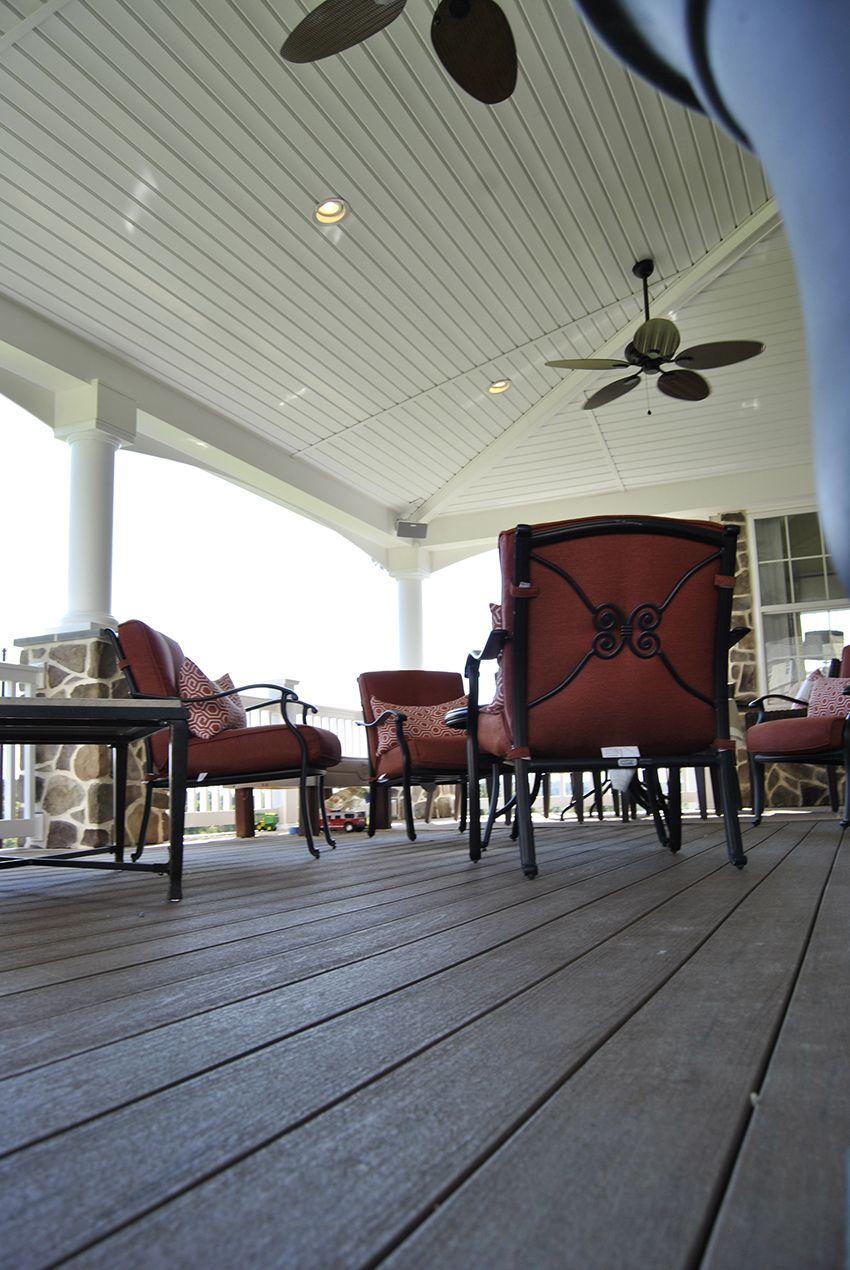 Best Custom Timbertech Open Porch Downingtown Pa Custom 400 x 300