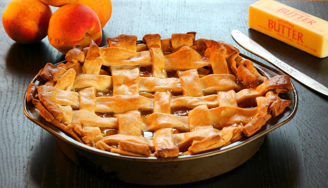 Peach Pie is a beautiful two crust pie with delicious peach filling prepared using fresh peaches and simple ingredients. this pie is really hard to resist.