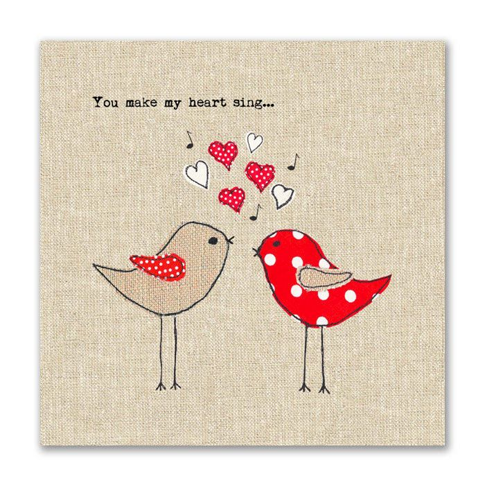 love bird valentine card Google Search valentines day – Make a Valentines Card Online