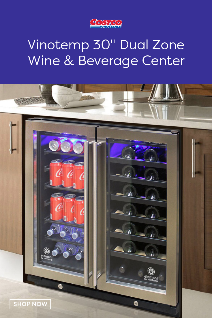 Want To Wow Your Guests The Vinotemp 30 Wine And Beverage Cooler Is Perfect For Those Who Love To In 2020 Bars For Home Home Bar Designs Kitchen Organization Pantry