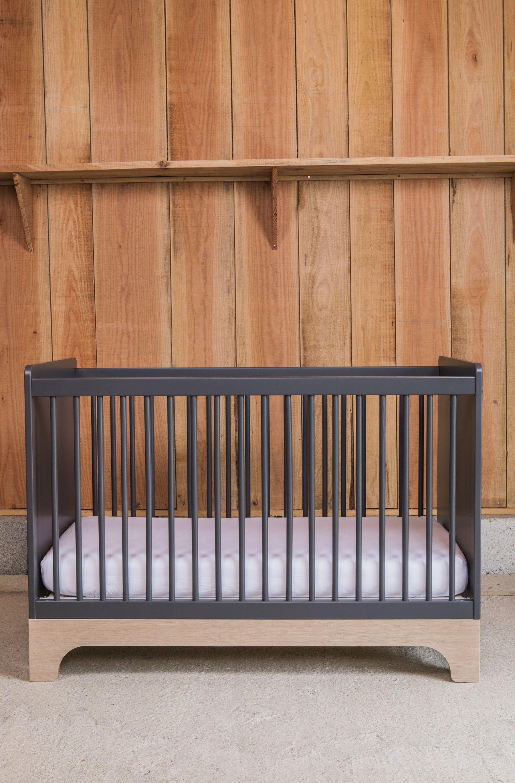 Lit bébé évolutif 70x140cm en bois Style Nordique Calvi par Kadolis ...